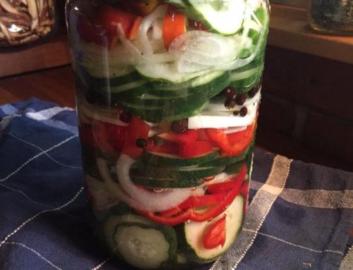 Uhorkové pickles