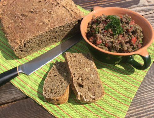 15 minútový kváskový chlebík